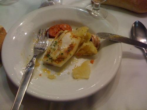 Comiendo en El Ñeru
